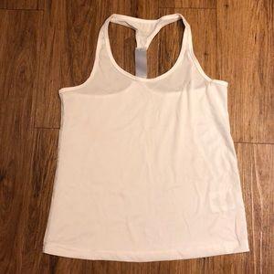 White workout tank- medium